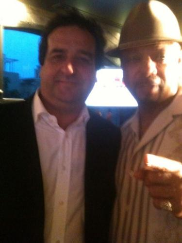 Donte with Mick Molloy