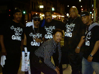 Donte and the Boys from The Sugar Hill Gang